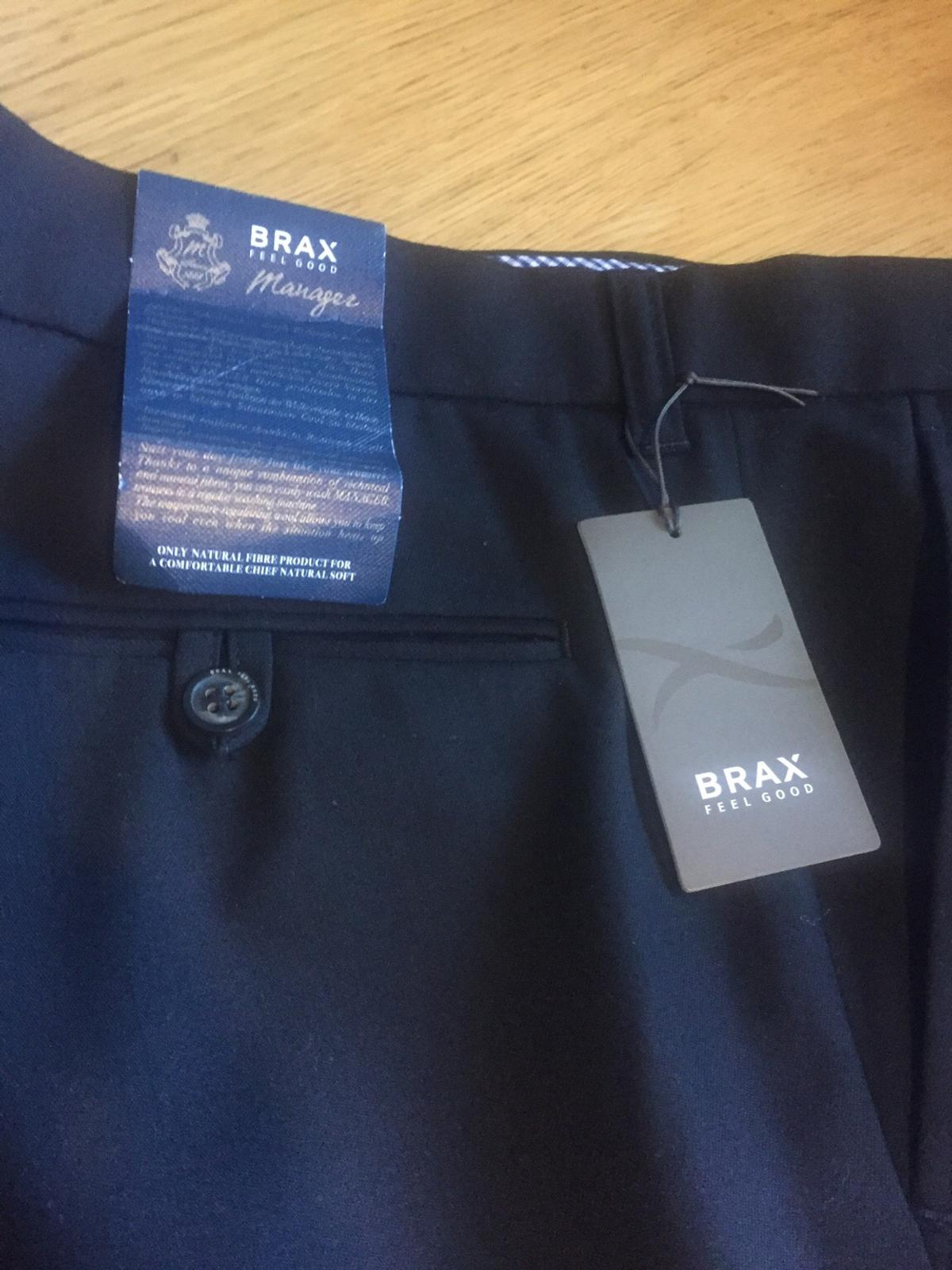 detailing finest selection new lifestyle Brax feel good trousers black in WS4 Walsall for £12.00 for ...