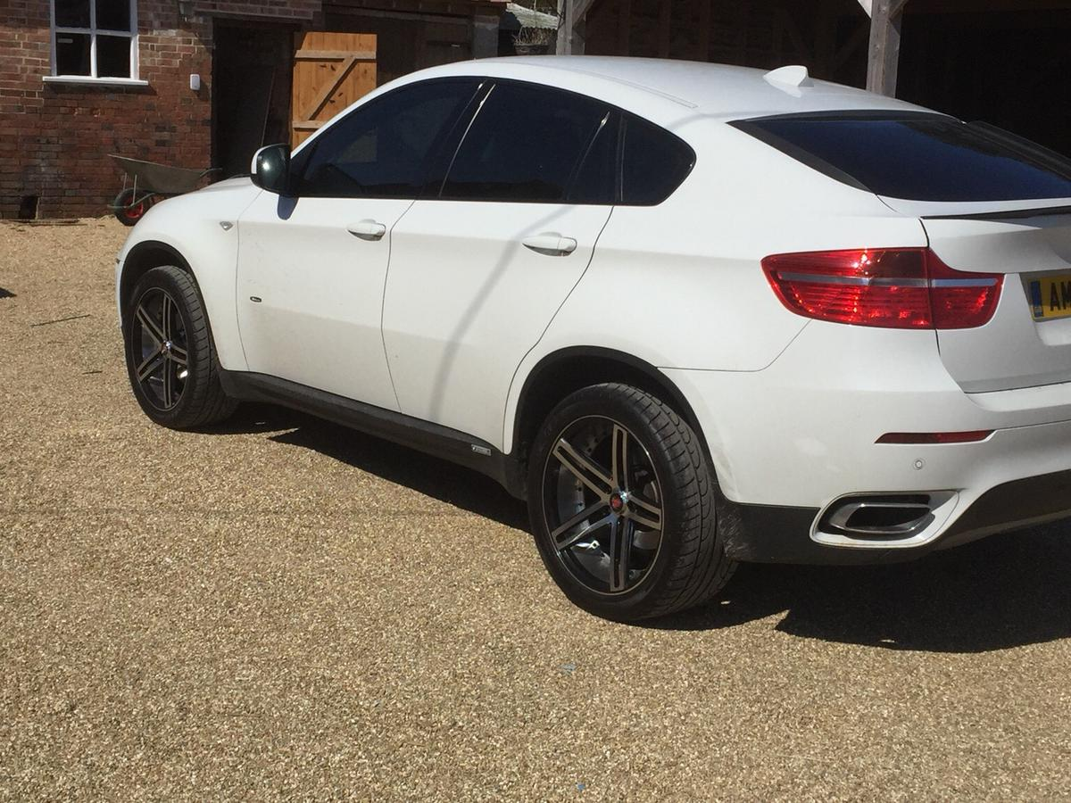 Bmw X6 20 Inch Wheels With Spacers And Bolts In Purbeck For 450 00 For Sale Shpock