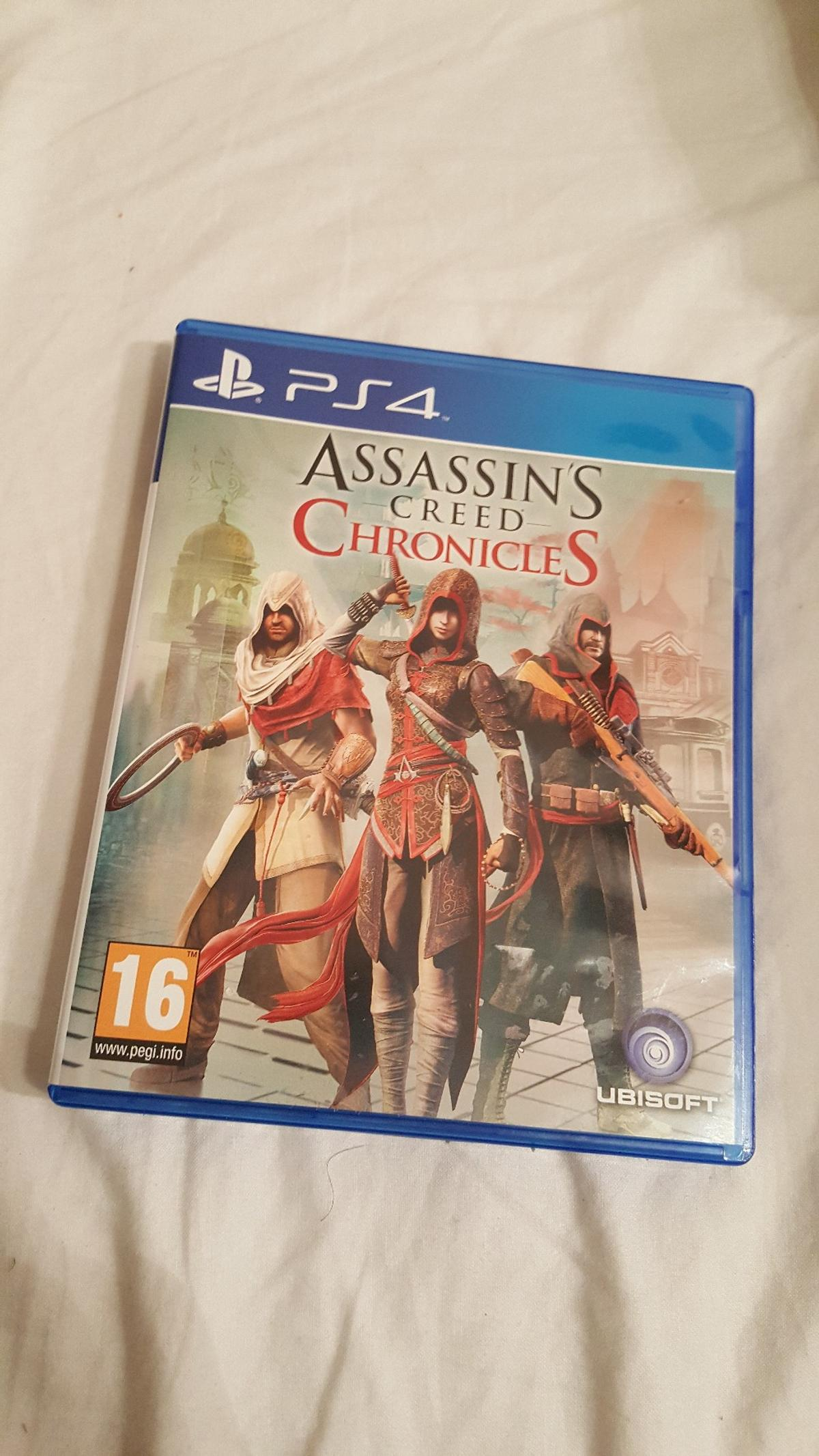 Ps4 Assassin S Creed Chronicles Trilogy Pack In Tn26 Hothfield For
