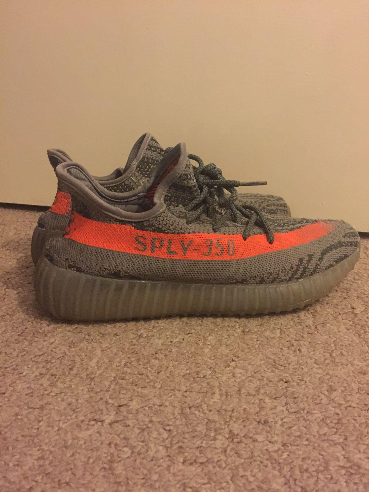 info for 0287f 1b57c Yeezy sply 350 Grey and Orange size 8 in SG1 Stevenage for ...