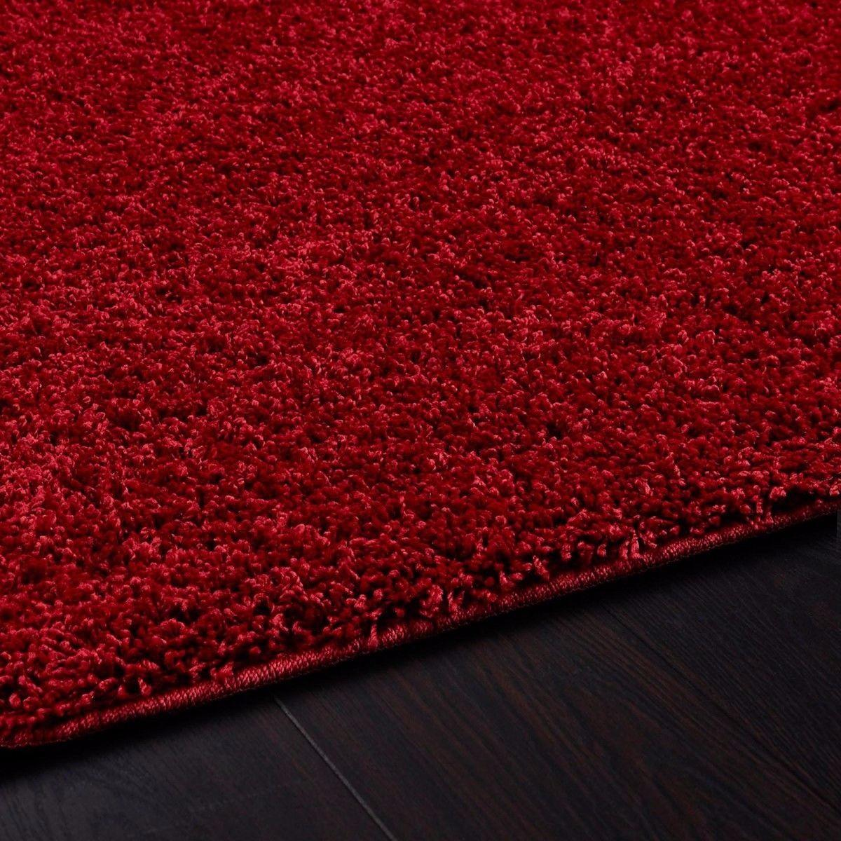 Buddy Red Rug 100 X 150cm Easy Care