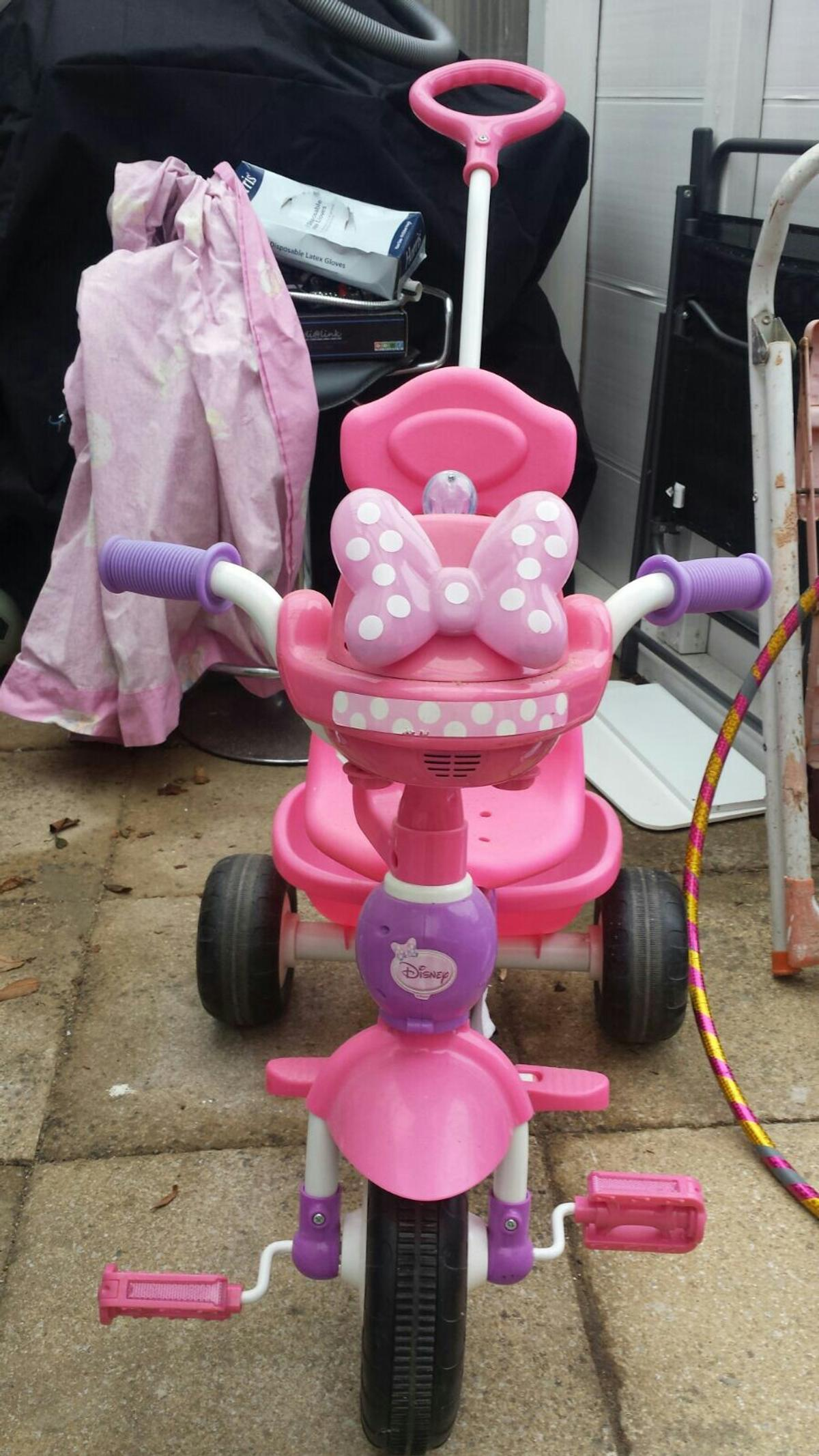 789a03f1043 Disney Minnie Mouse Push N' Ride Trike in Britwell for £20.00 for ...
