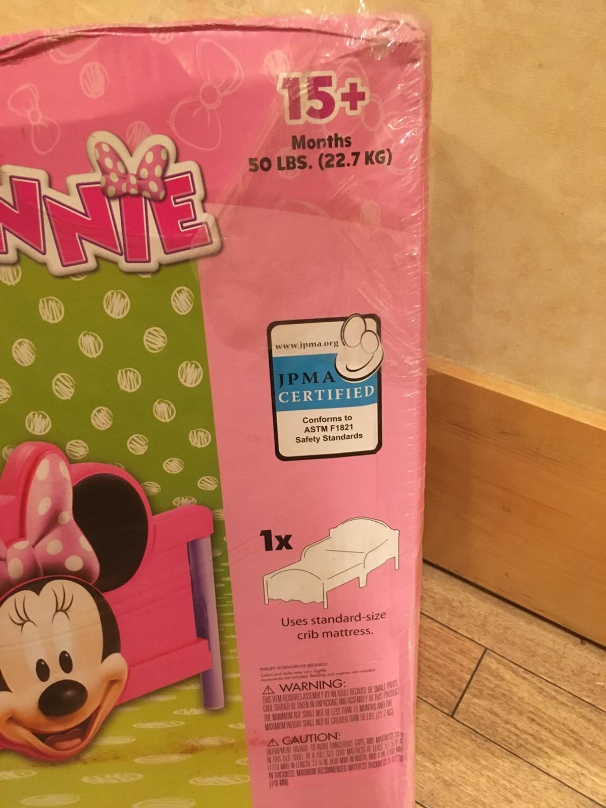 Brand New Disney Minnie Mouse 3d Toddler Bed In Bl9 Bury For 50 00 For Sale Shpock