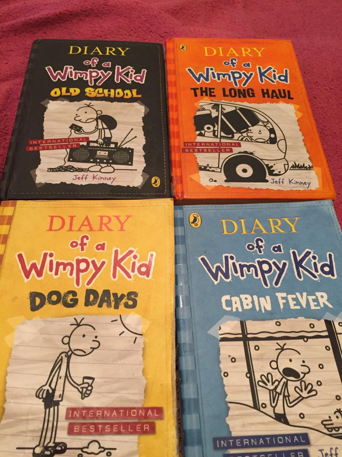 Dairy of a wimpy kid