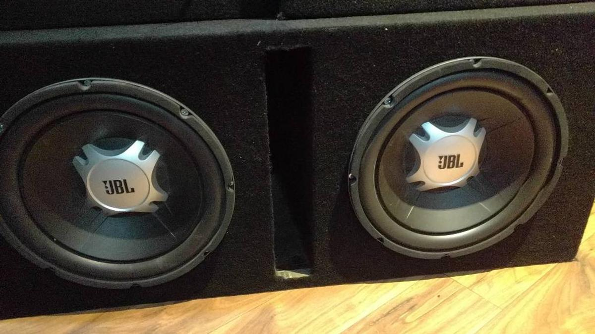 Subs, custom slot sort box for sale jbl in LE4 Leicester for