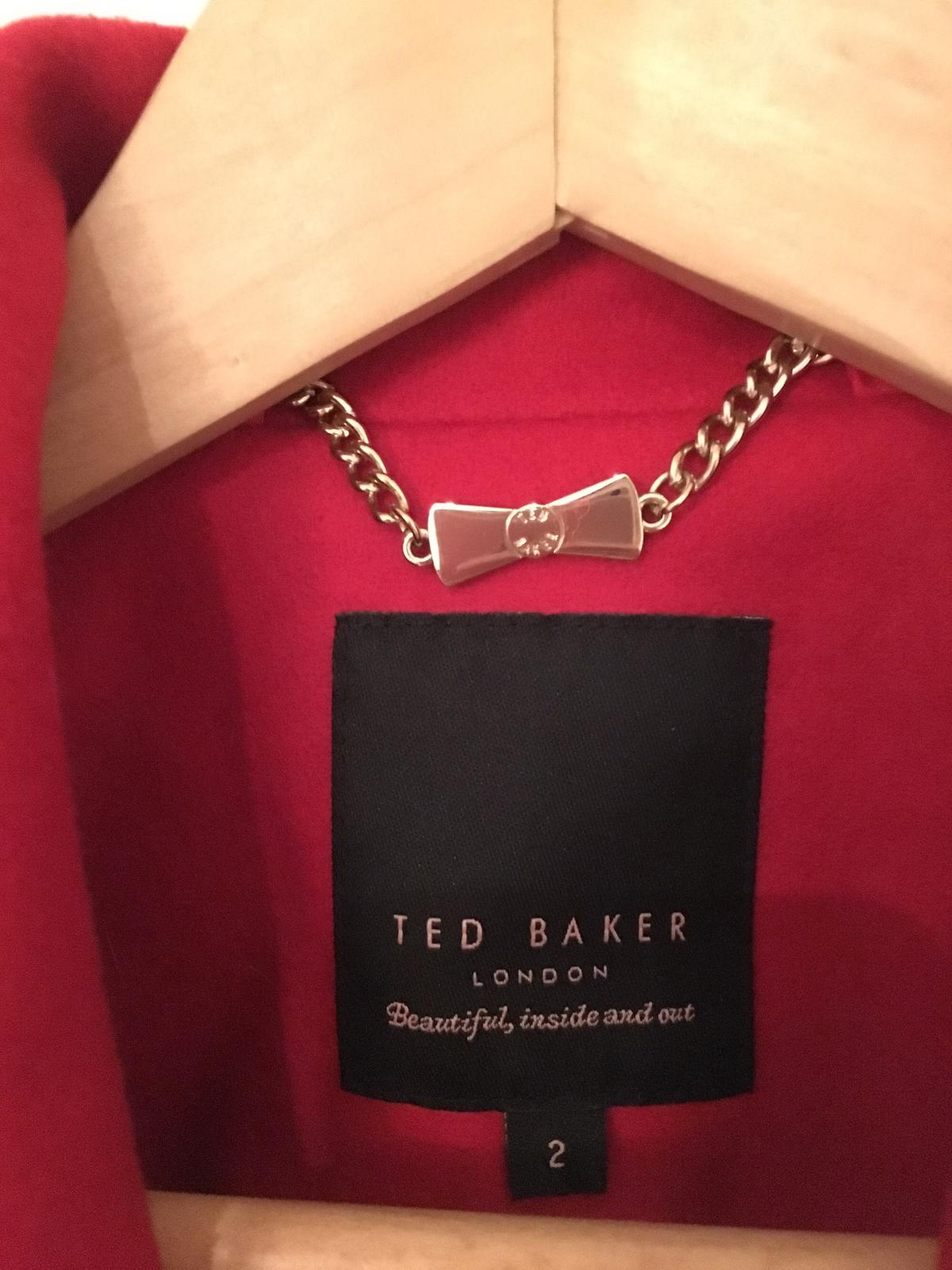 fa8a7f08b73c3 NEW Ted Baker coat red size TB2  UK10 in SW6 London for £160.00 for ...