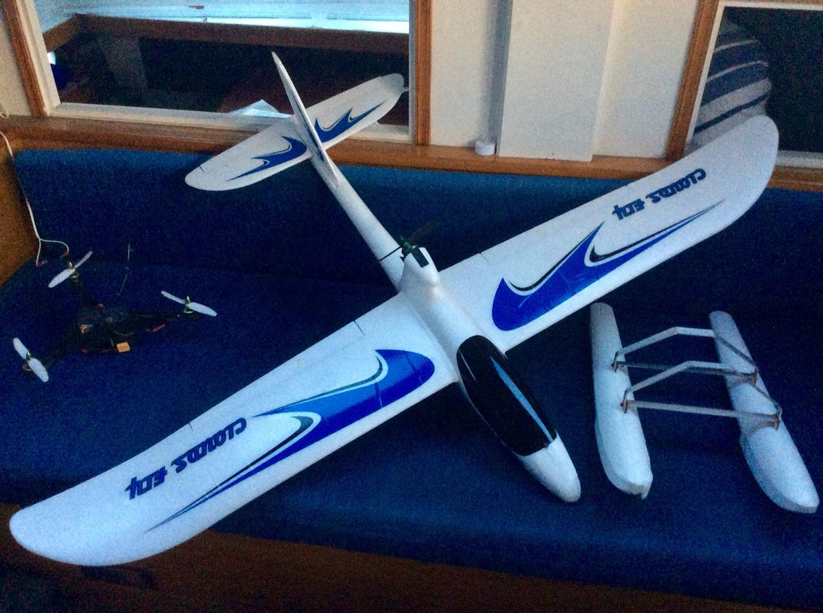 Rc plane electric AXN floater jet in IP4 Ipswich for £50 00