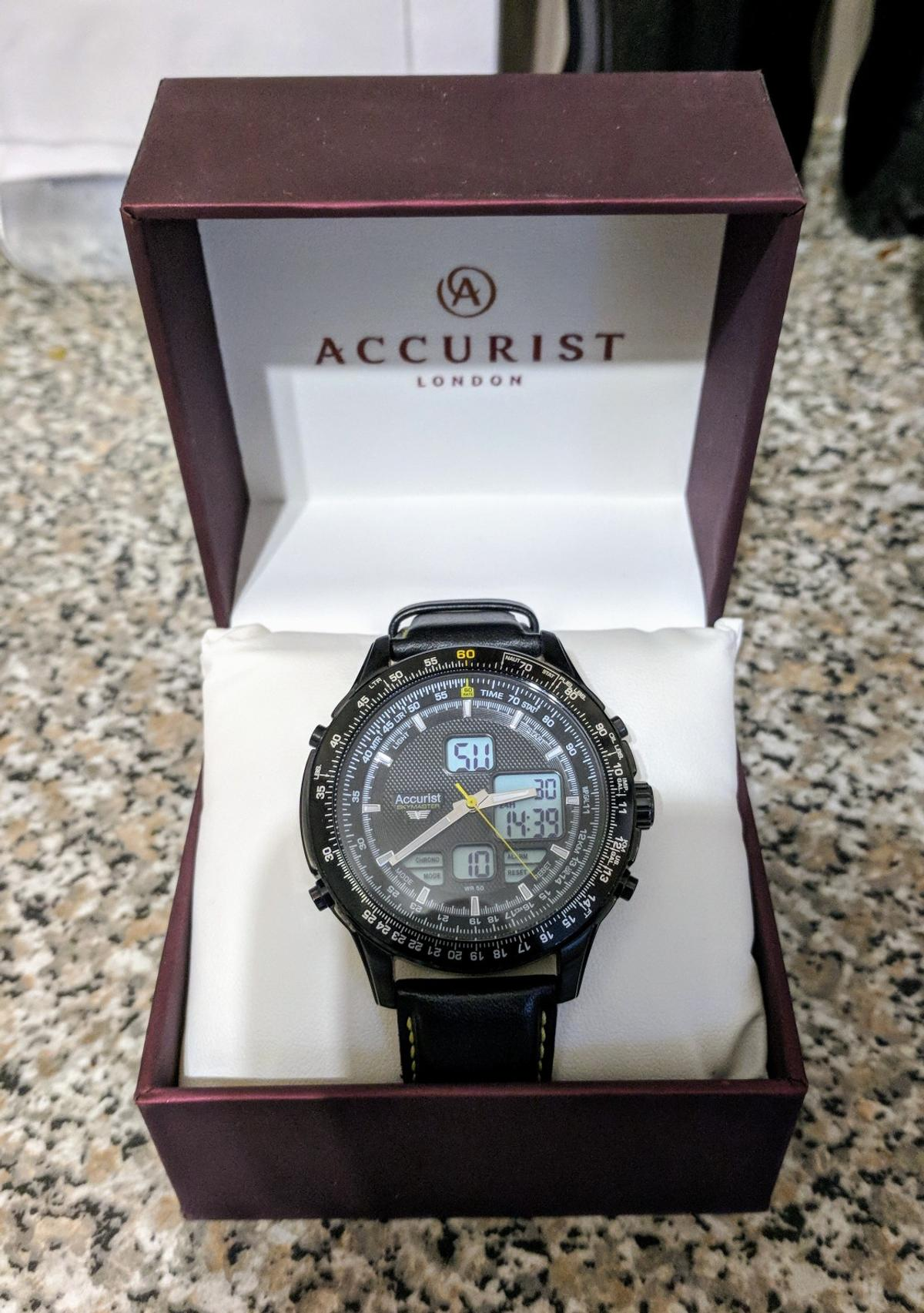 Accurist Skymaster MS930BY Gents Watch in St Helens for