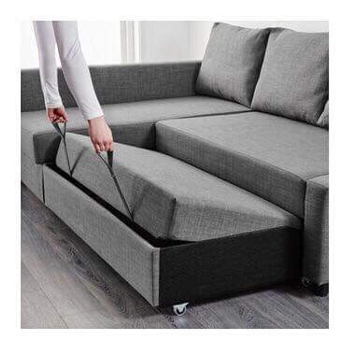 Corner sofa bed/storage in CF83 Bedwas for £350.00 for sale - Shpock
