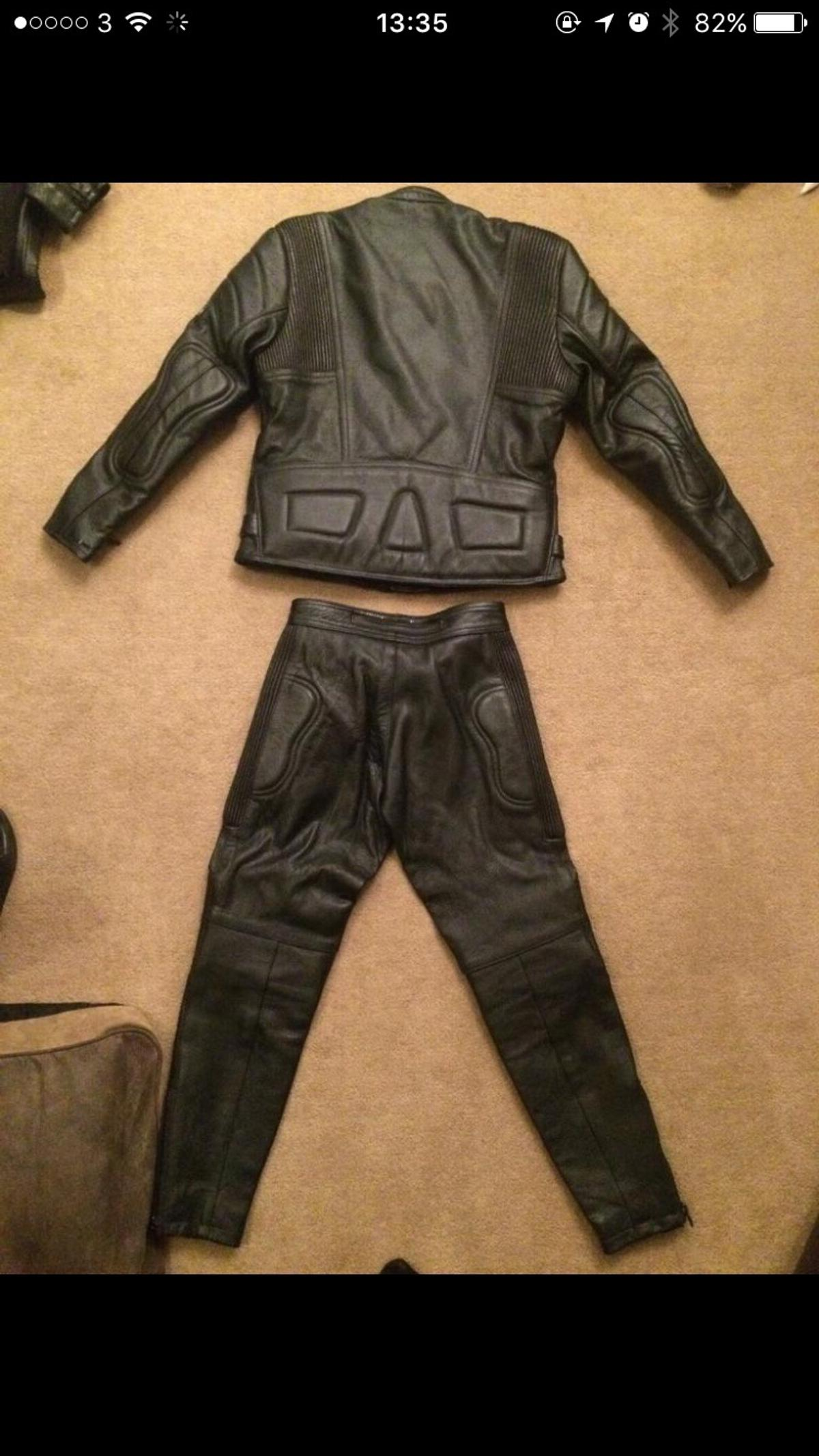 fashion best sneakers good out x Kids Motorbike leathers jacket & trouser 9-10 in S6 ...
