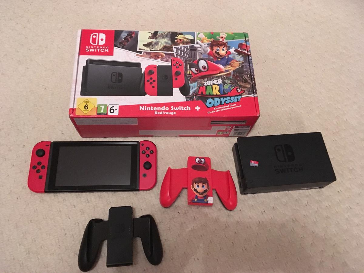 Nintendo Switch Mario Edition Console 128gb