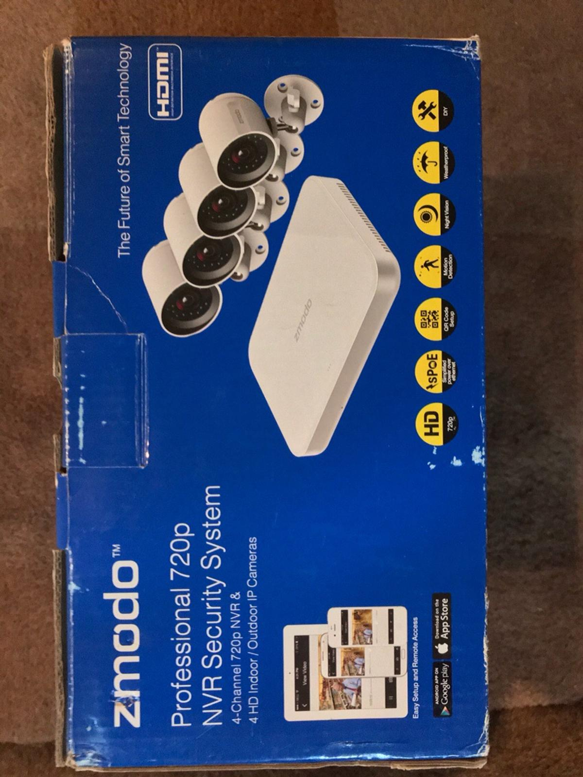 Zmodo Professional 720p NVR Security System in WS10 Walsall