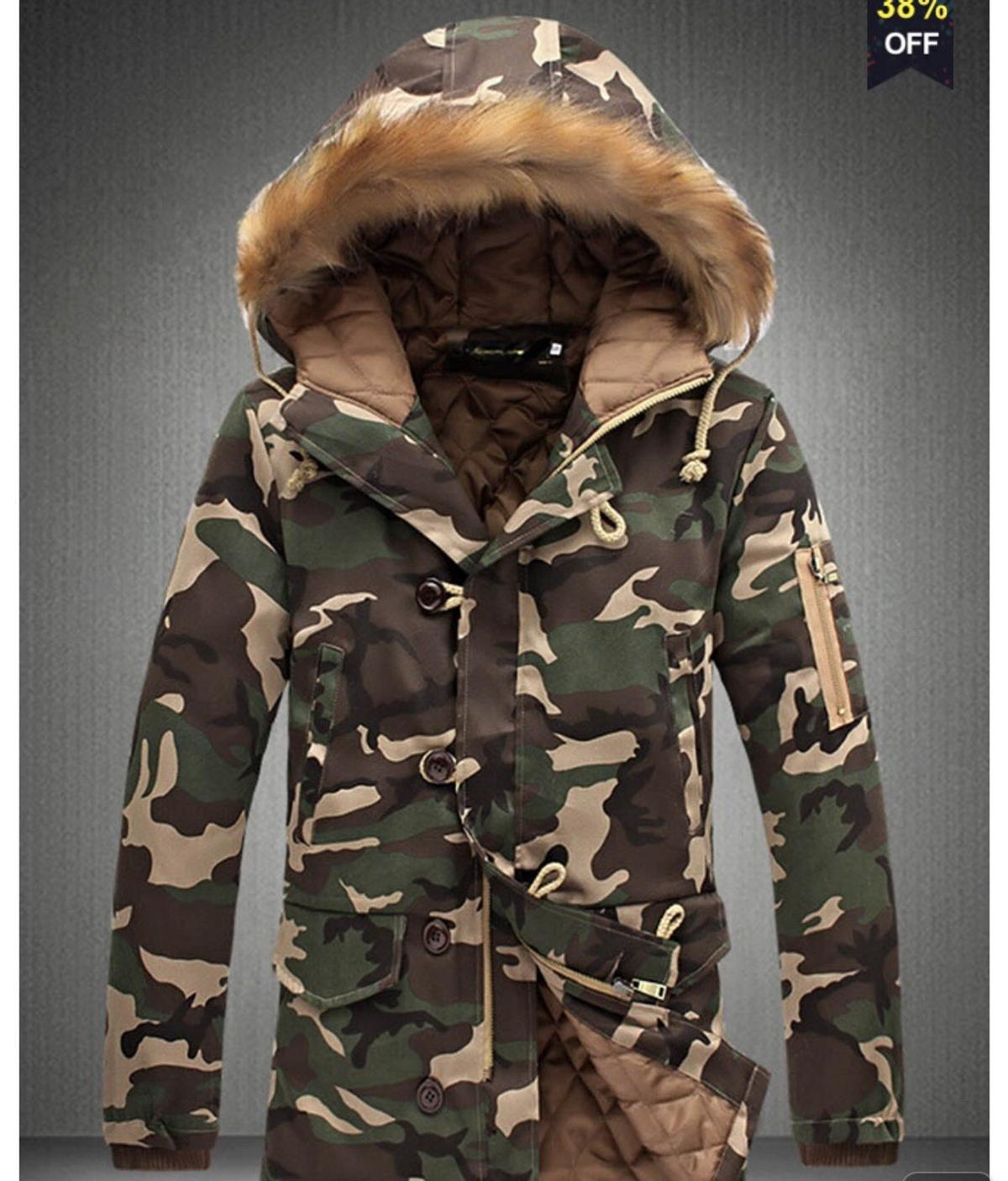 d39a3c8b42334 Camouflage winter coat in N1 London for £30.00 for sale - Shpock
