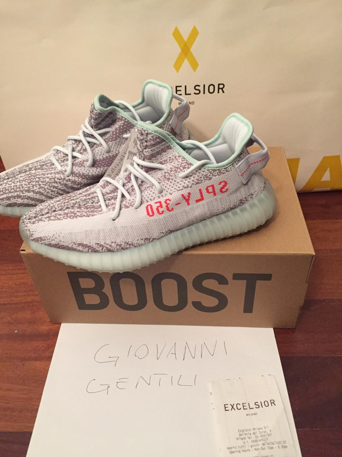 promo code 82b29 bc6b1 YEEZY BLUE TINT in 20123 Milano for €350.00 for sale - Shpock