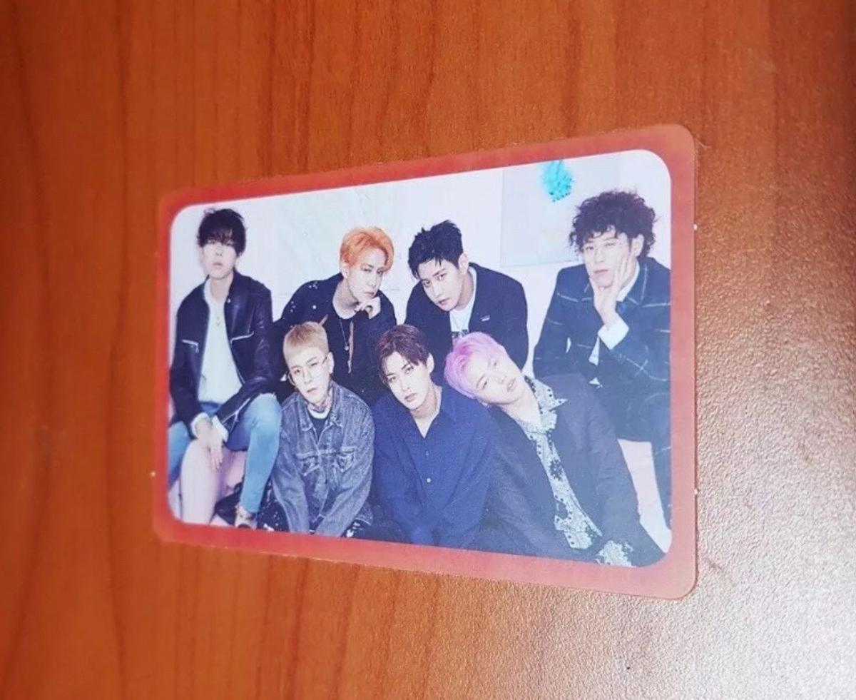 K POP BLOCK B MONTAGE PHOTOCARD in 2 Pistoia for free for sale - Shpock