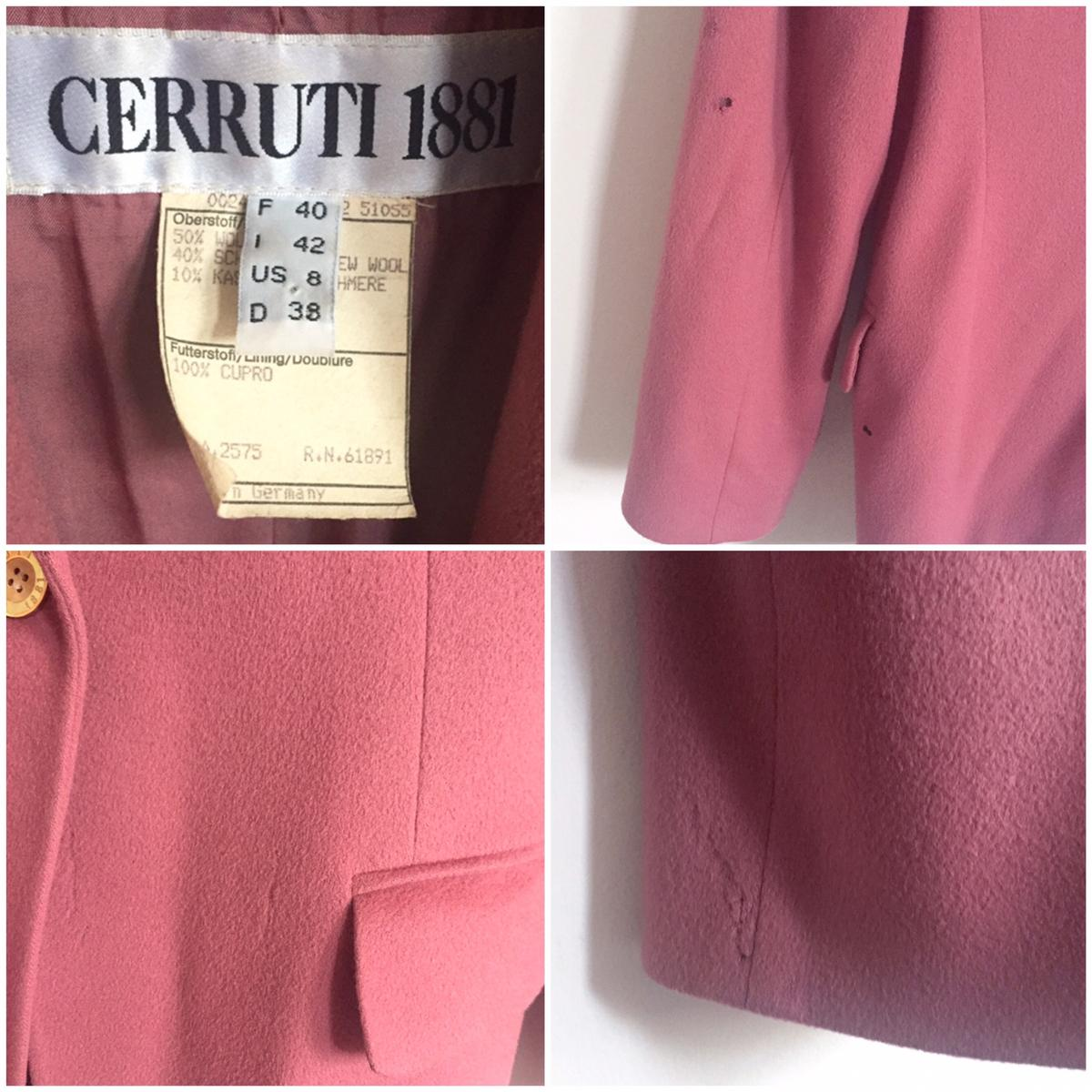 MULBERRY CERRUTI 1881 WOOL CASHMERE BLAZER in E9 London for £20 00