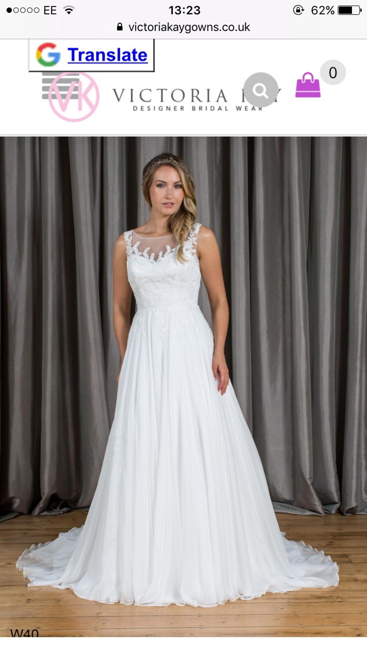 Victoria Kay Wedding Dress New In Tn34 Hastings For 600 00 For
