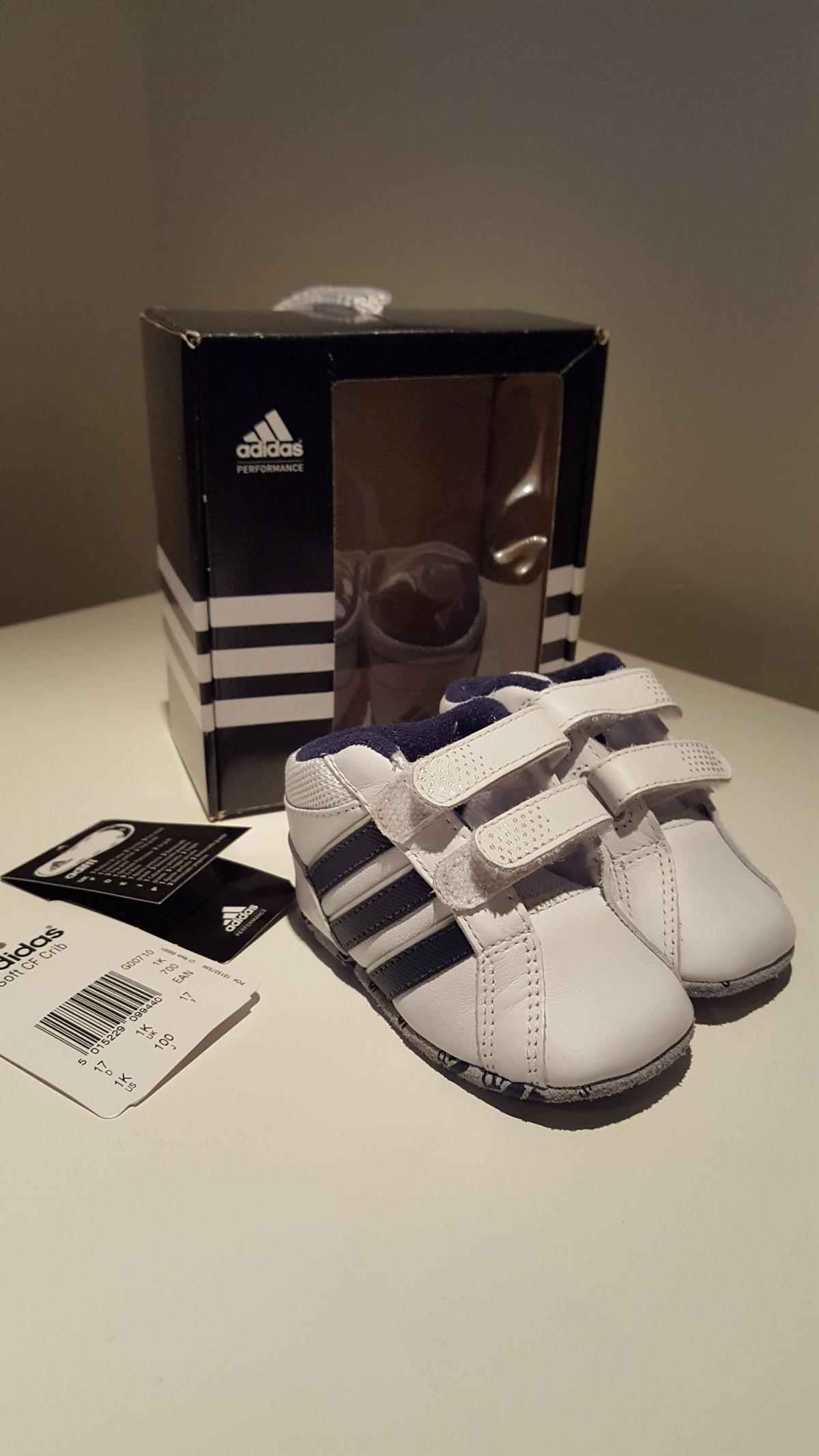 Adidas baby trainers size 1K in Lincoln for £8.00 for sale