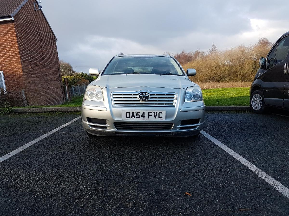 2004 Toyota Avensis Estate 2 0 d4d diesel in Holway for £1,300 00