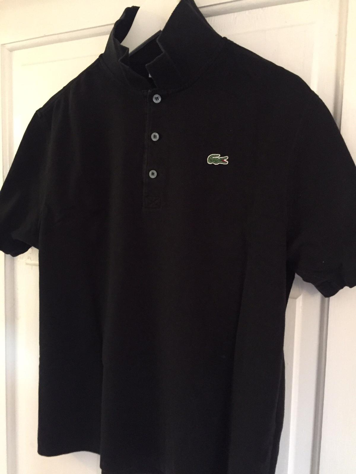 0c34e77cff9 Mens Black Lacoste Polo Shirt – EDGE Engineering and Consulting Limited