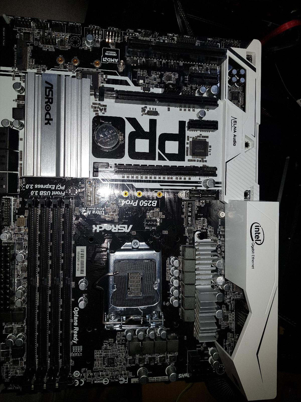 Asus motherboard Intel b250 chipset in OL8 Oldham for £60 00
