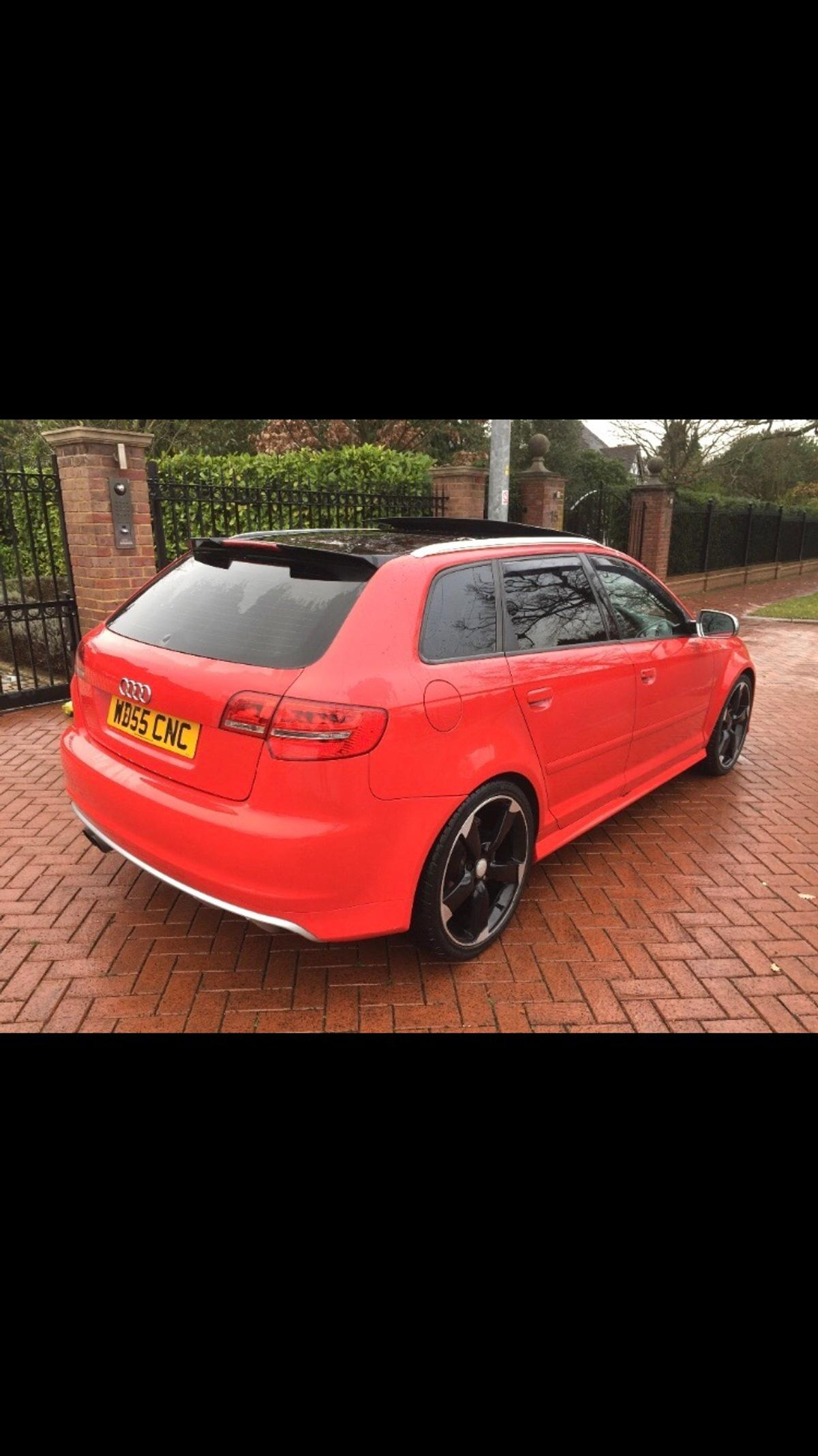 AUDI A3 QUATTRO S LINE SPORTBACK RS3 REP in WS5 Walsall for