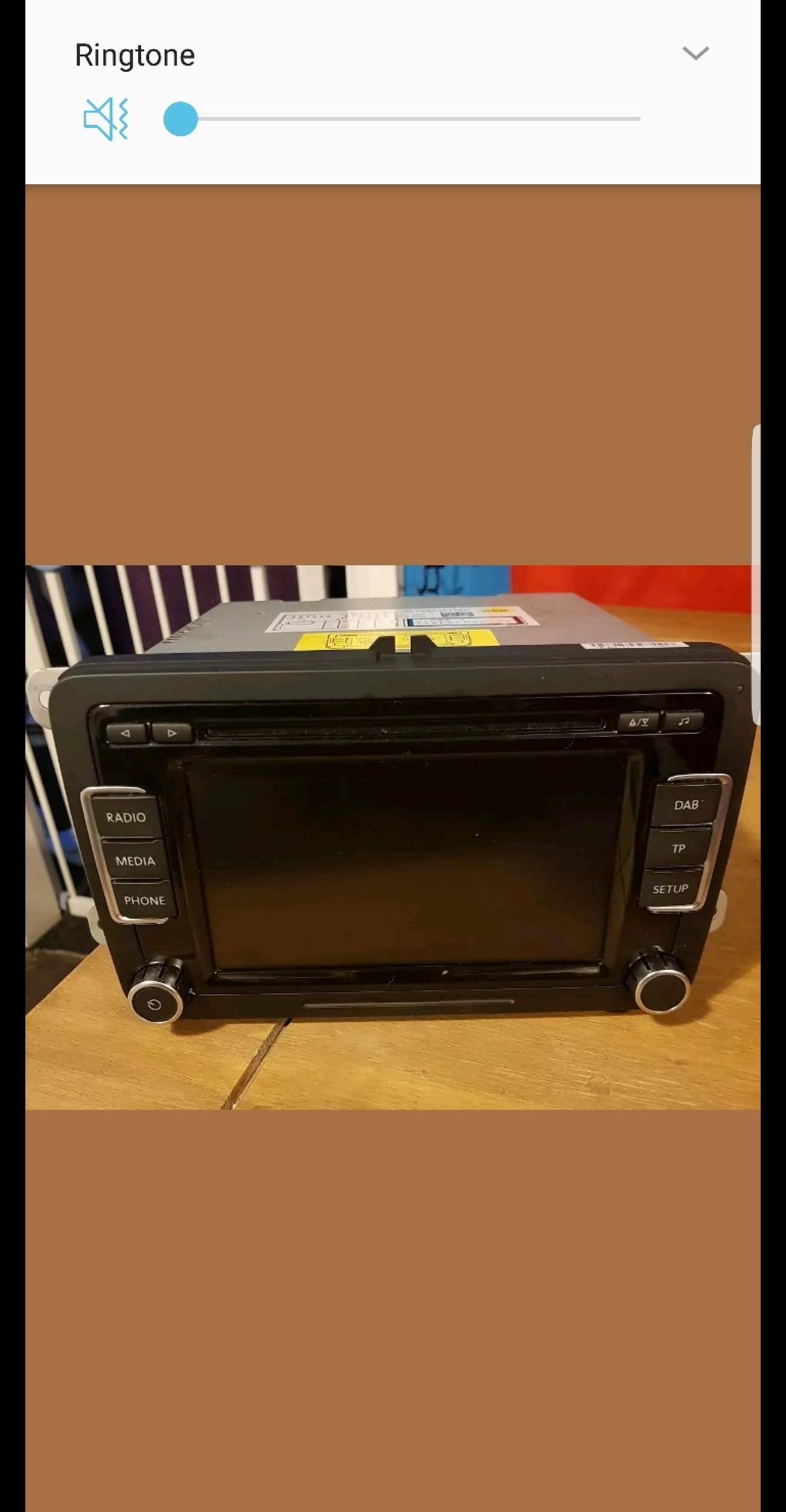 Genuine vw rcd 510 dab touch screen unit in Barnsley for