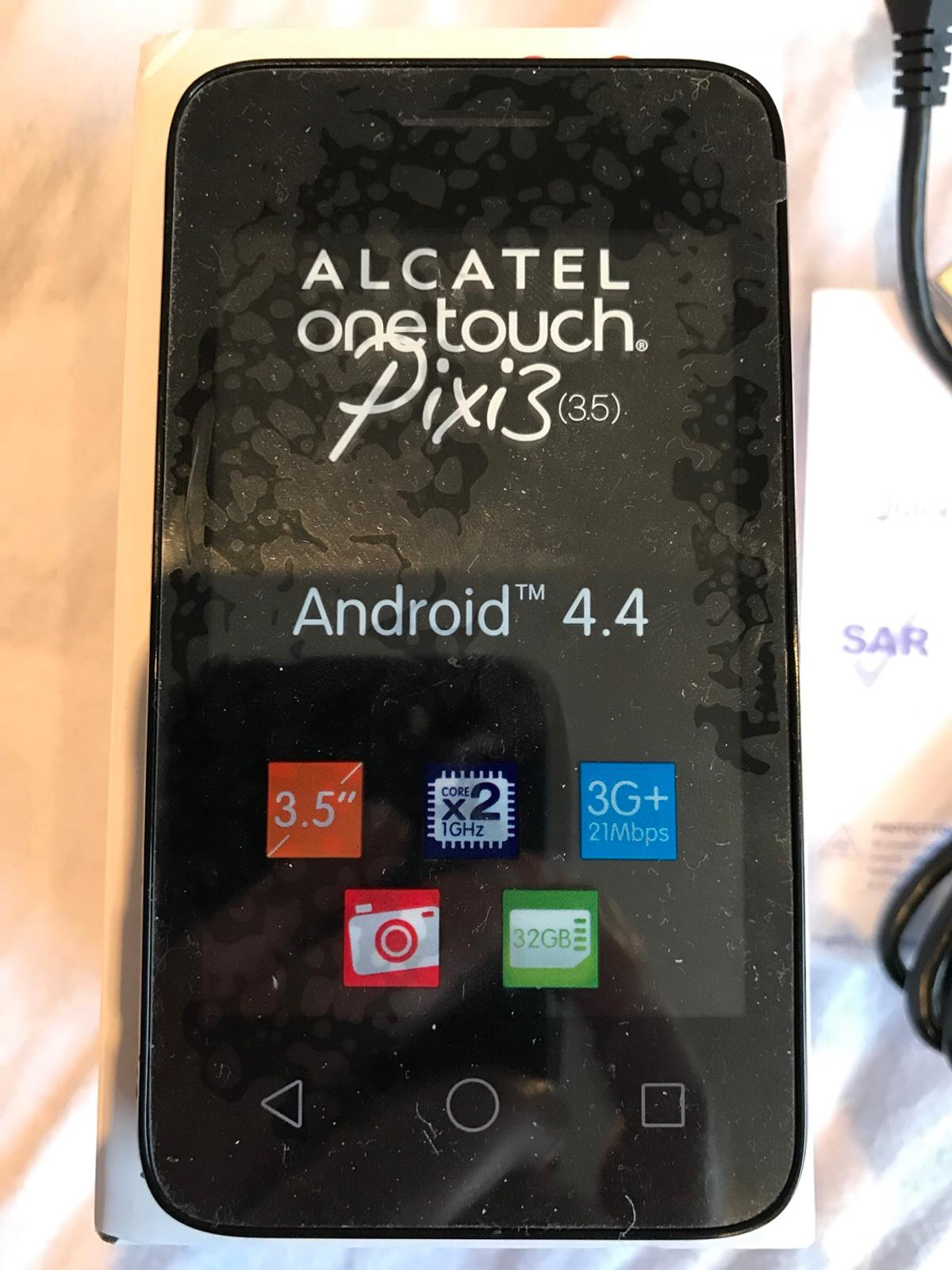 Alcatel Pixi 3 Android smartphone (unlocked) in N16 Hackney for