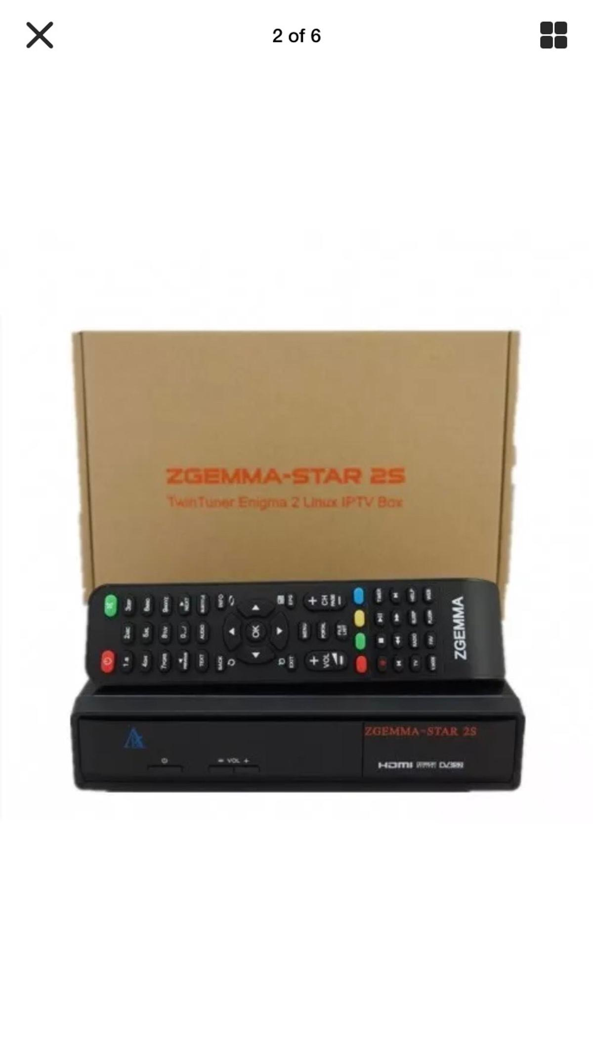 Brand new Zgemma Star S2 Satellite Receiver