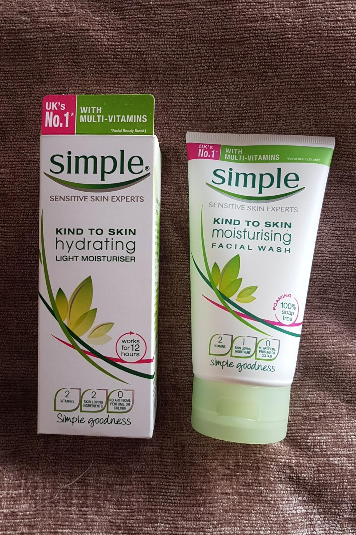 Intelligible simple moisturising facial wash think, that
