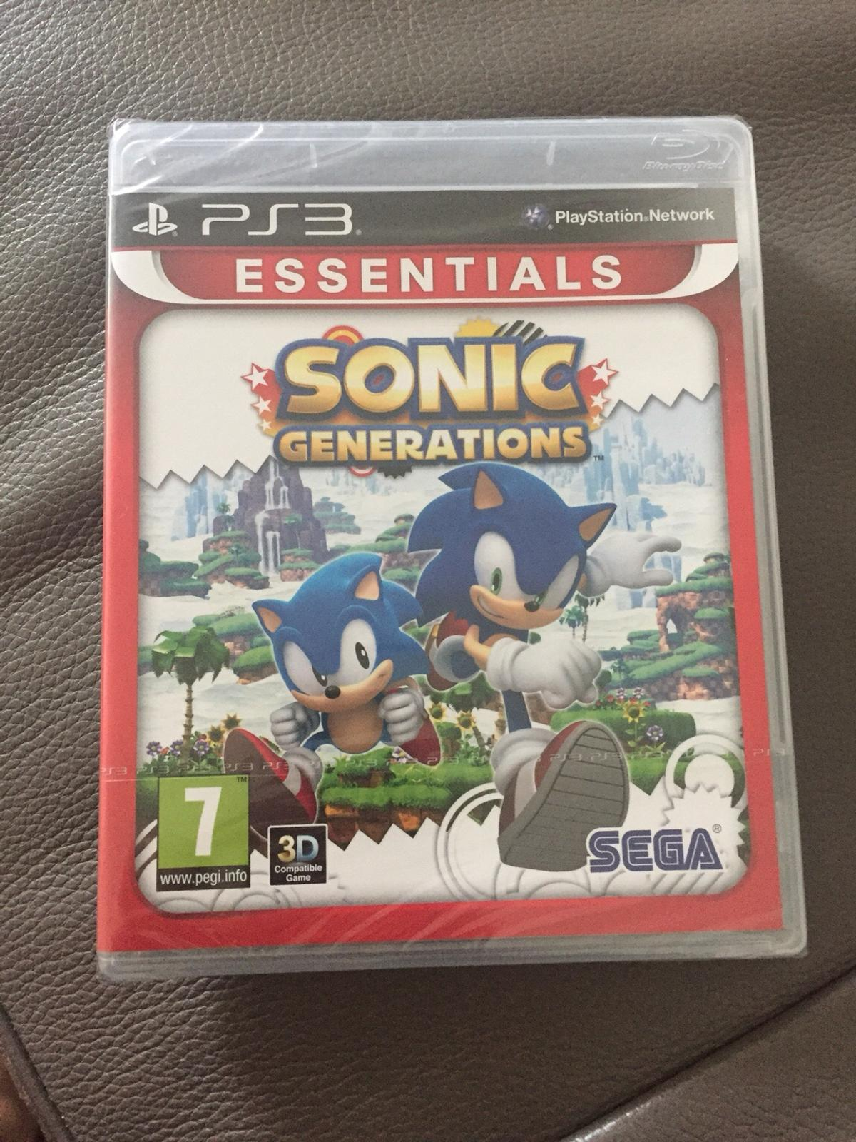 Sonic generations ps3 game (sealed)