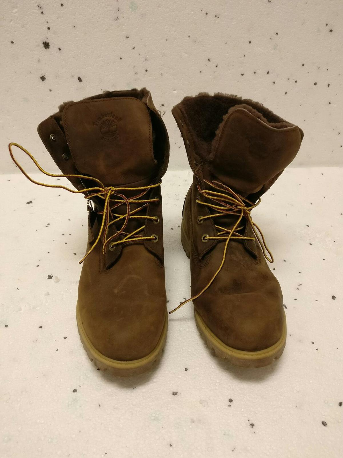 c98345b4d16 Mens Brown tall fur lined Timberland boots in E11 Forest for £50.00 ...