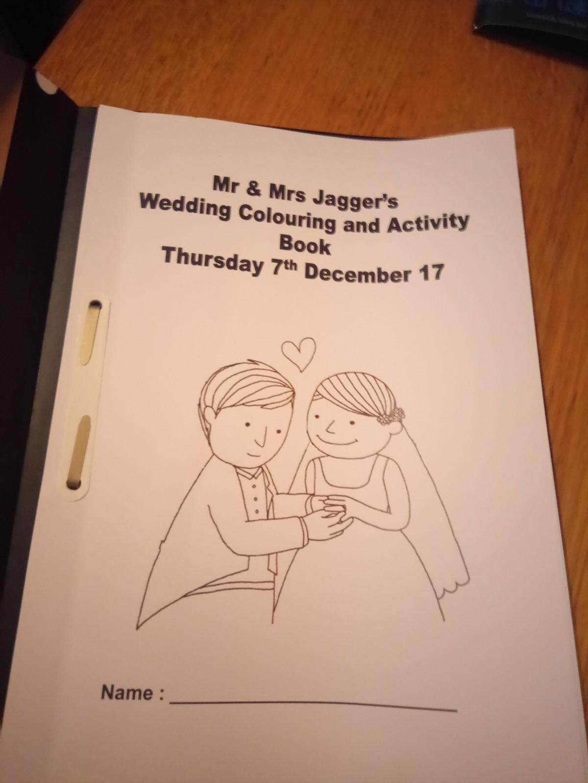 Pdf Wedding Colouring Books In S43 Bolsover For 5 00 For
