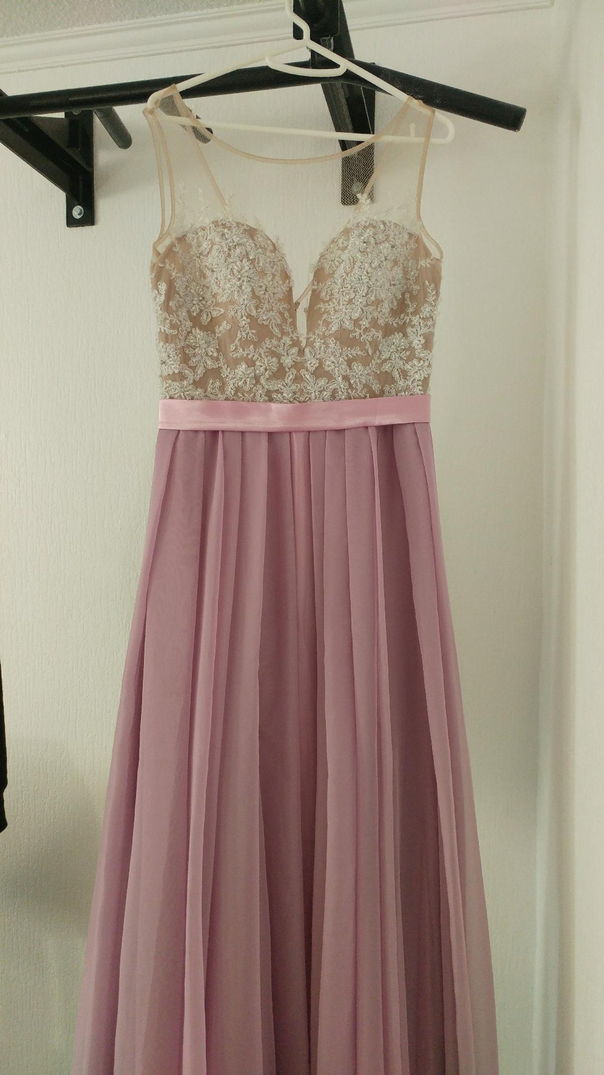 abendkleid mit tattoo-spitze in 47055 duisburg for €90.00