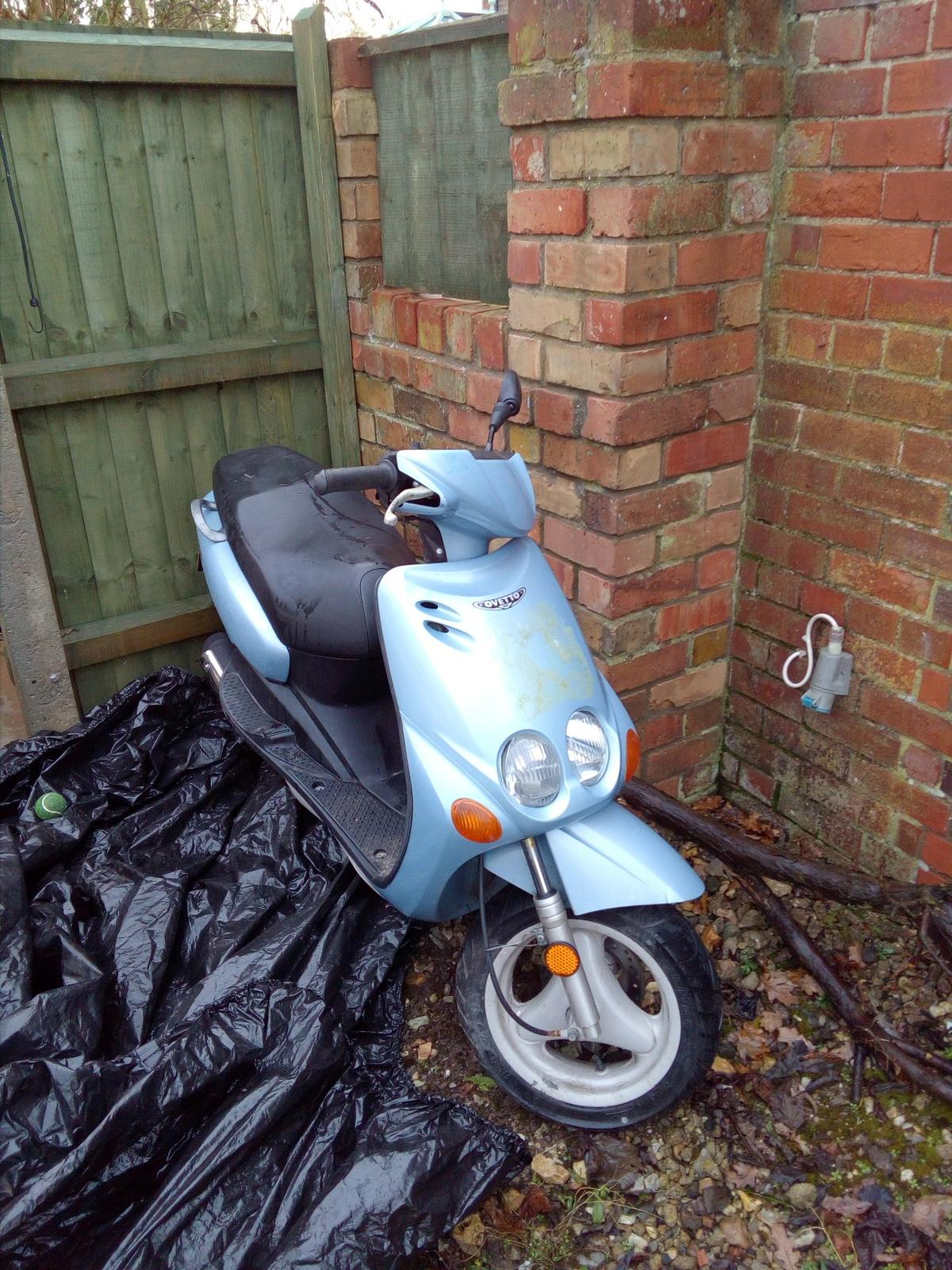 Scooter 51 plate MBK Ovetto 50cc