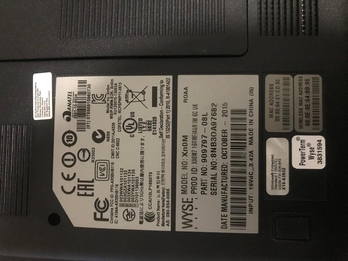 Dell wyse Xn0m in WC1E Camden for £60 00 for sale - Shpock