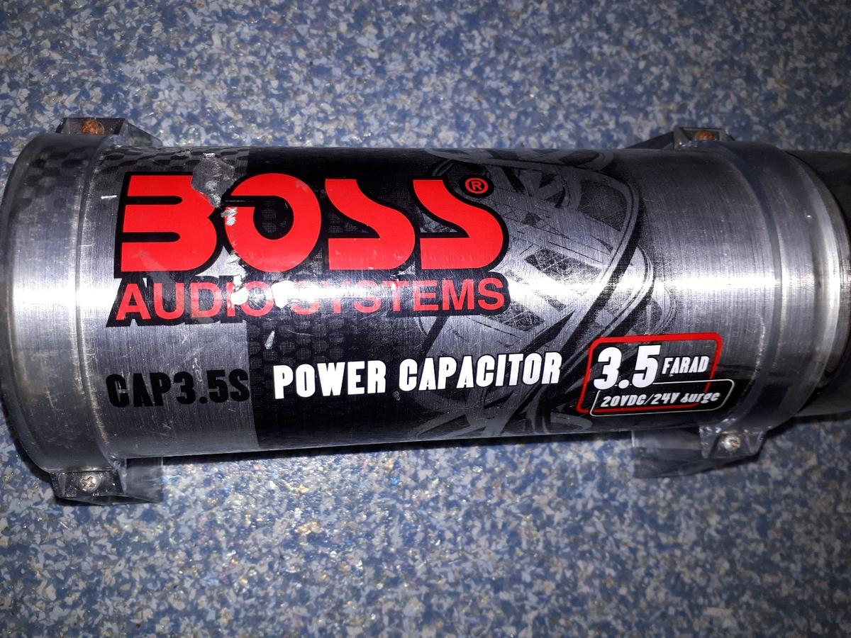 In car stereo power capacitor in E5 Hackney für £ 30,00 kaufen - Shpock