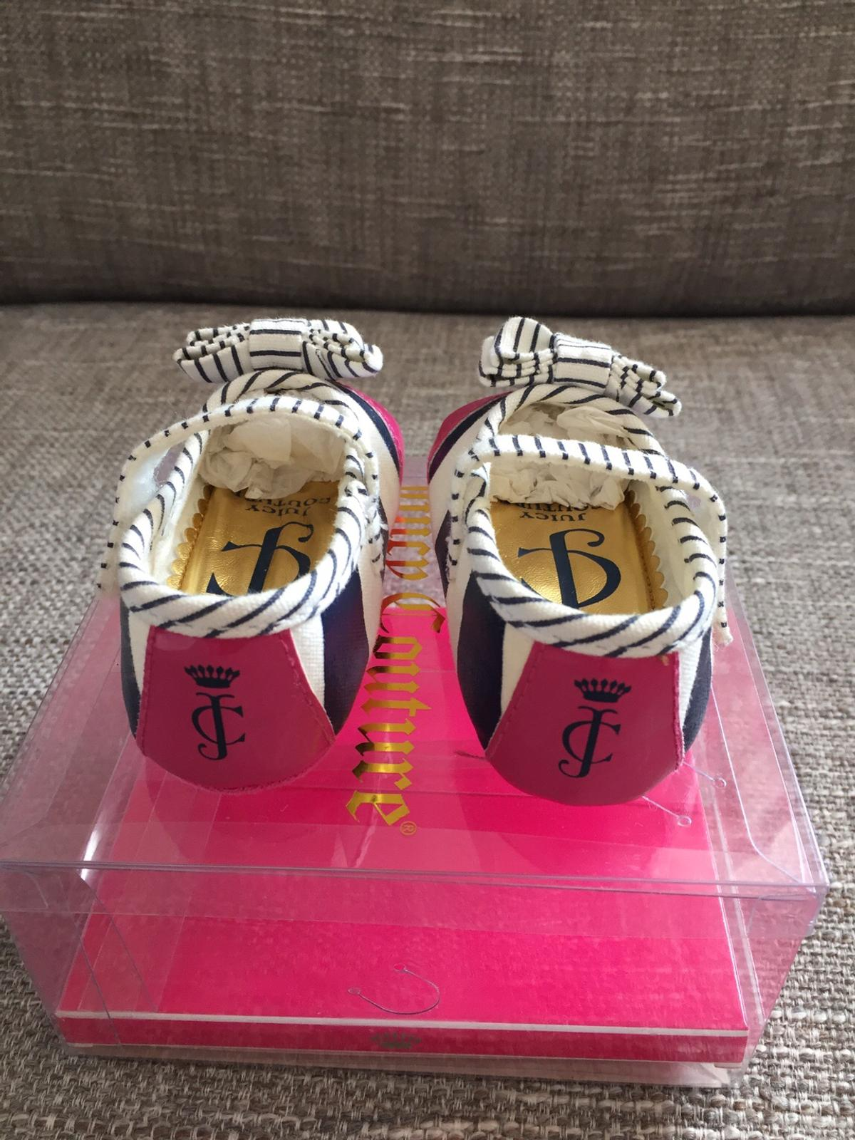 Brand New Baby Girls Juicy Couture Shoes In N1 London