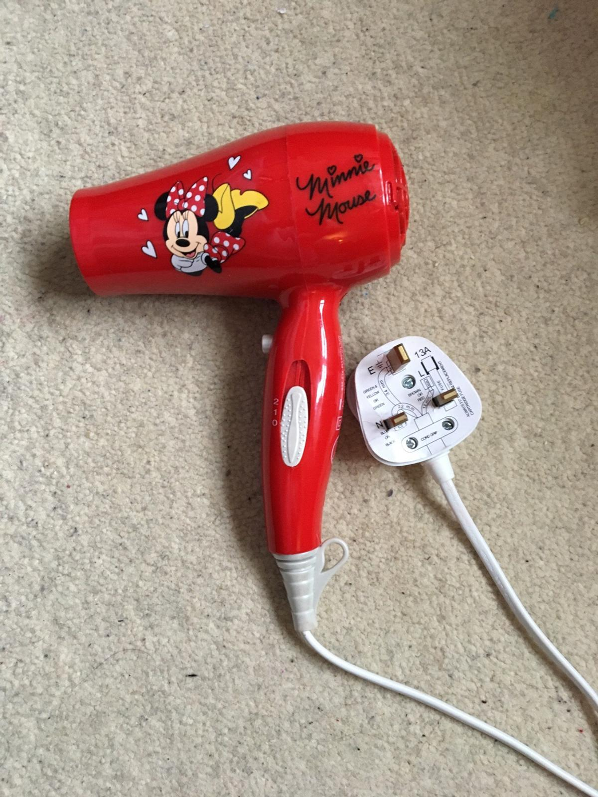 Kids Minnie Mouse hair dryer