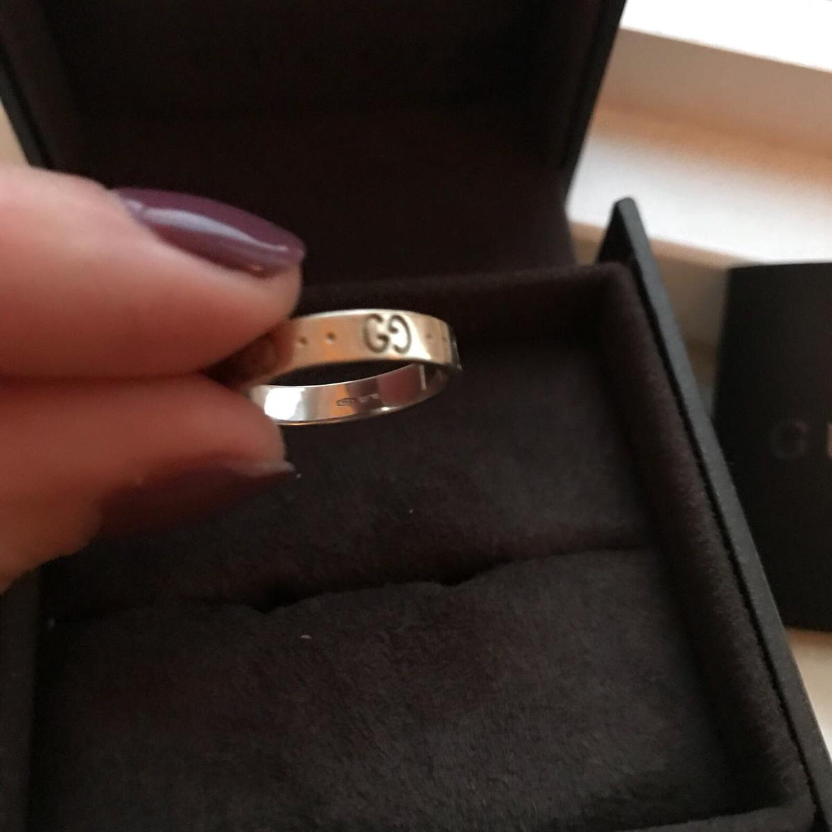 15adf9ef0 Gucci Icon Twirl Ring 18CT white gold in Harlow for £250.00 for sale -  Shpock