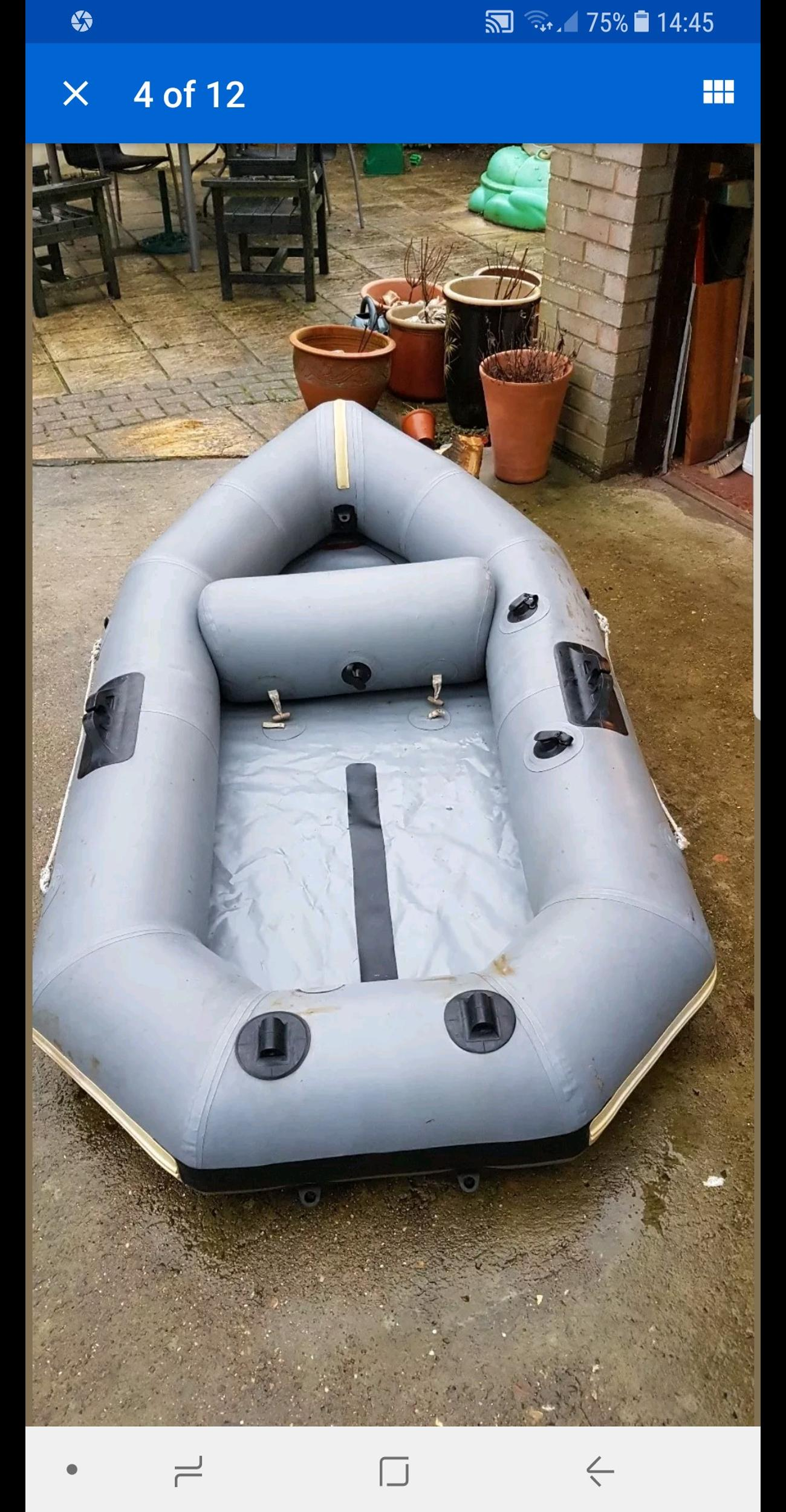Avon redcrest inflatable dinghy in CW8 Weaverham for £100 00