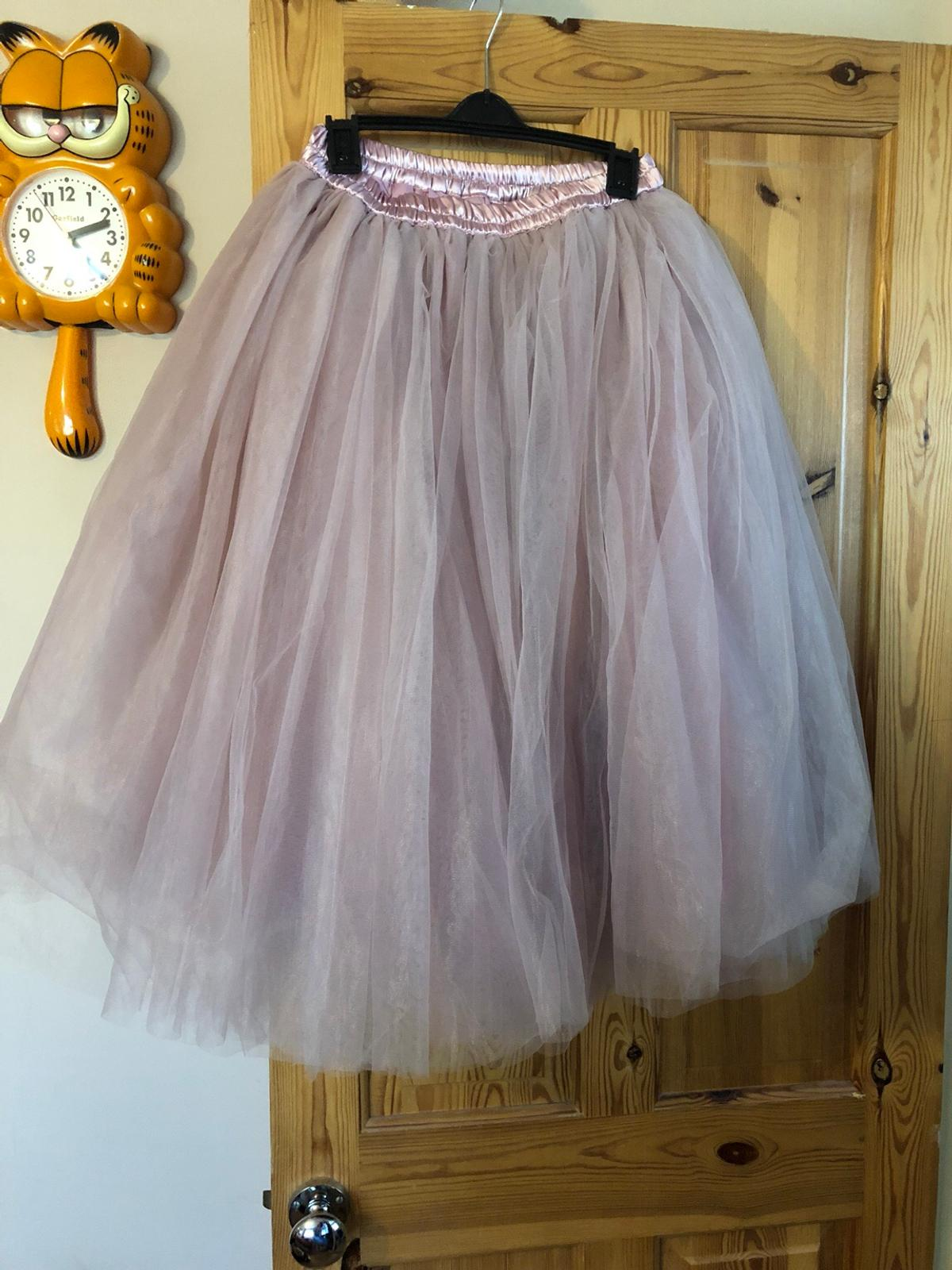 63bcd4f2275d99 Rose midi tulle tutu skirt size 10 BN in L25 Liverpool for £25.00 ...