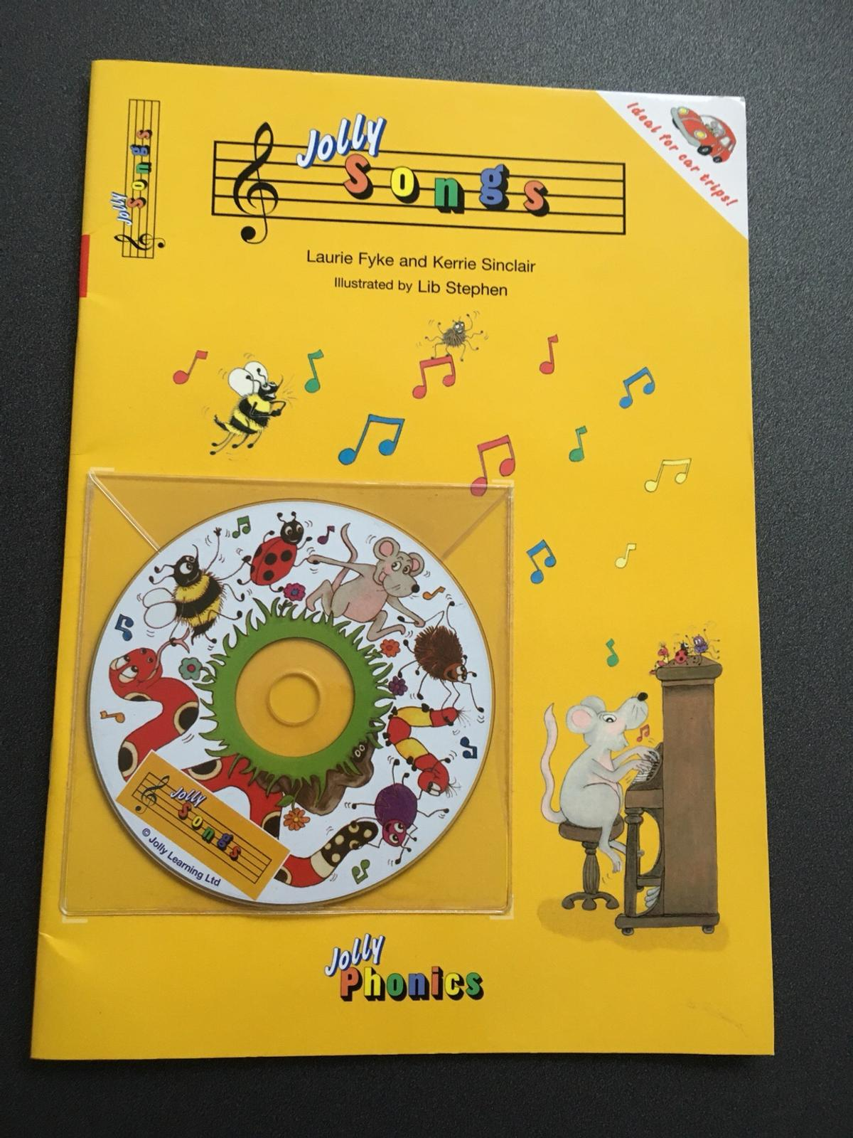 Jolly phonics songs book with cd