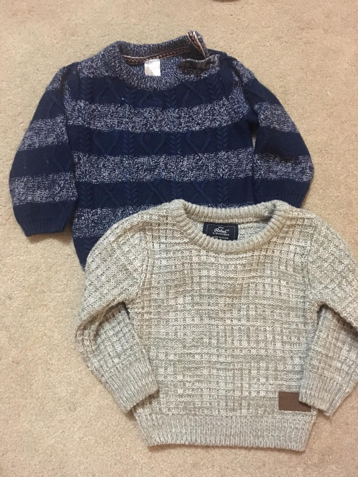 9476b0488 2 x Baby Boy Jumpers 9-12 months in DY5 Dudley for £4.00 for sale ...
