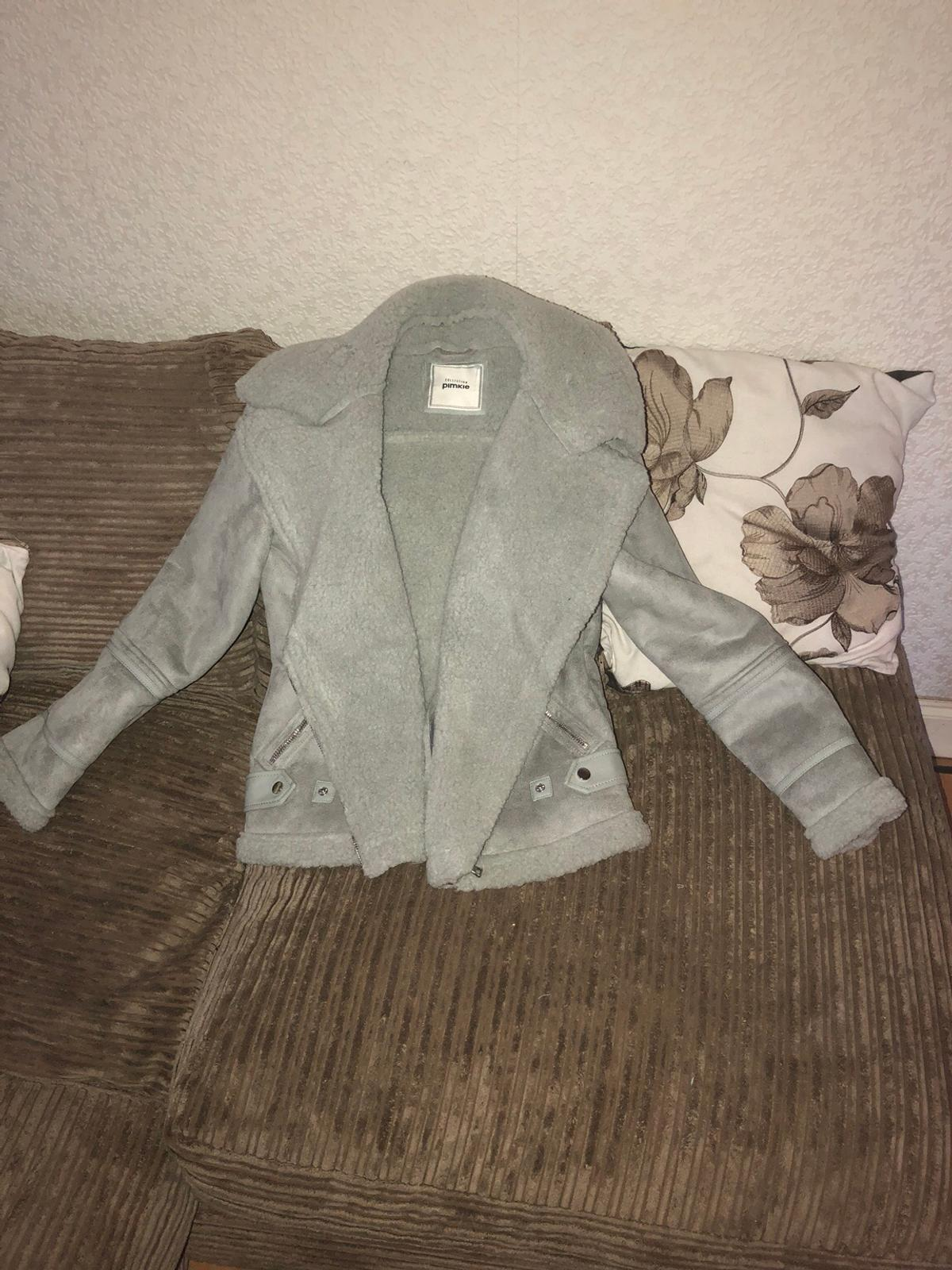 477bb1a6a Ladies pimkie faux shearling aviator jacket in SE16 Southwark for ...