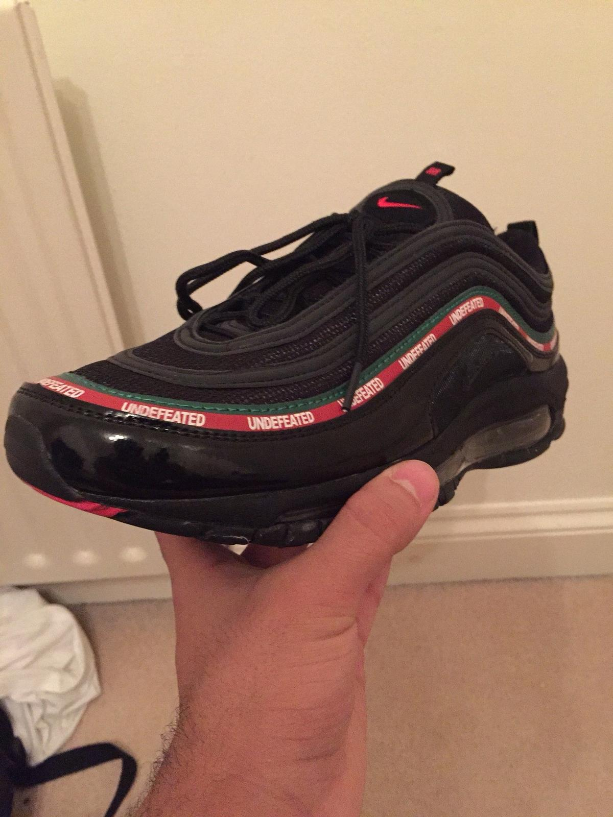 NIKE AIRMAX 97 OGUNDEFEATED UNDFTD SIZE 10 in CM16 Forest