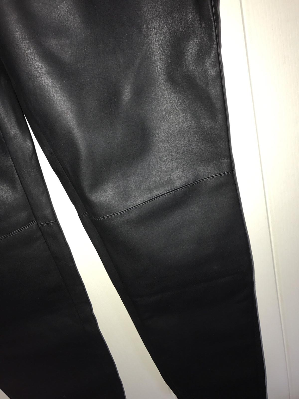 various design search for official 50% price New look matte black leather leggings