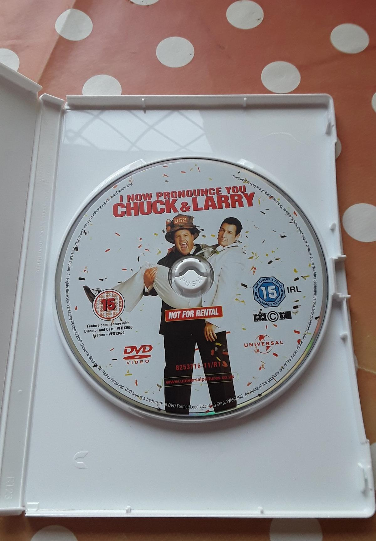 I Know Pronounce You Chuck Larry Dvd In Ws15 Lichfield For 0 50 For Sale Shpock