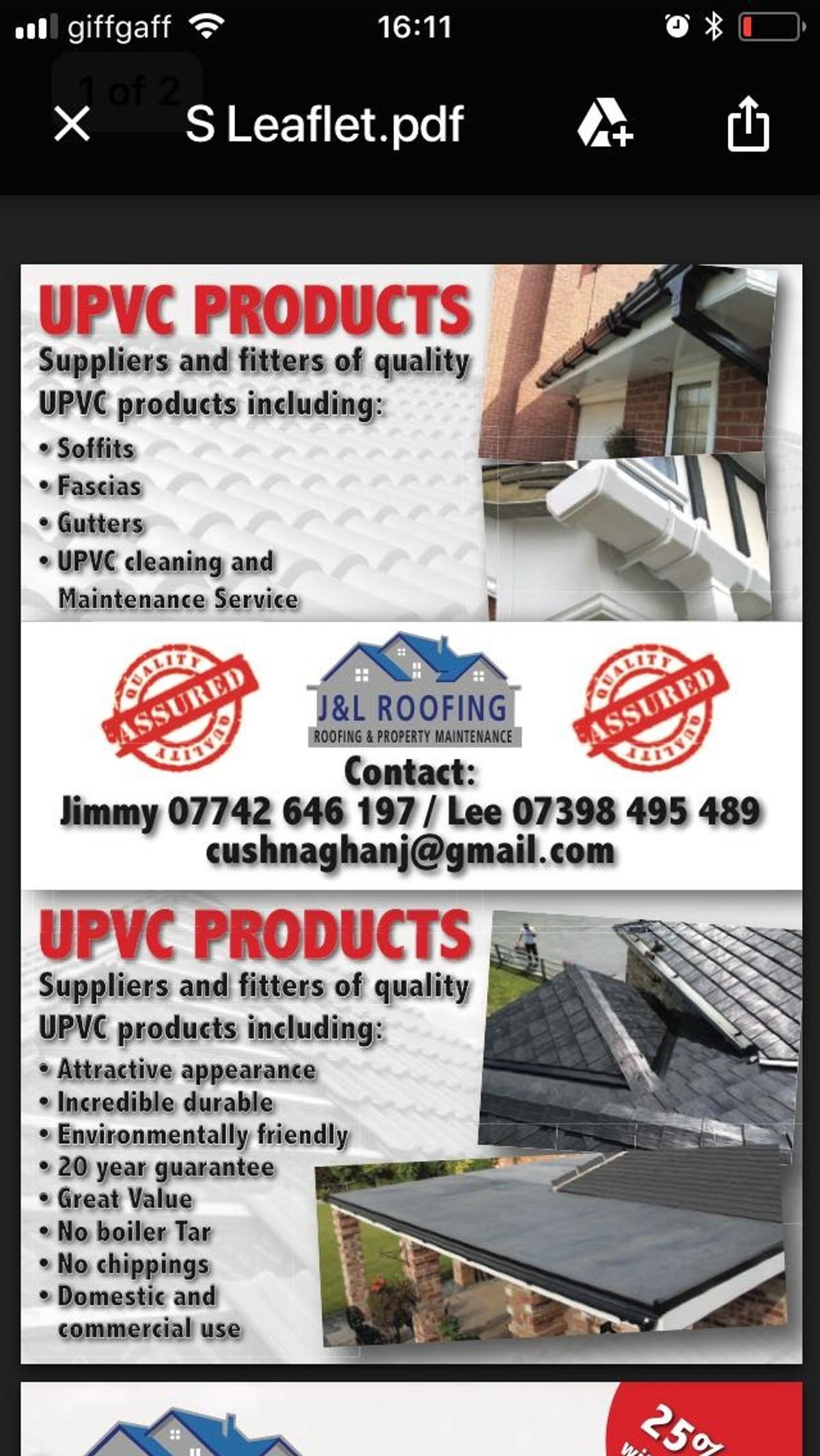 Jnl Roofing In Pr5 Ribble For 12 345 00 For Sale Shpock