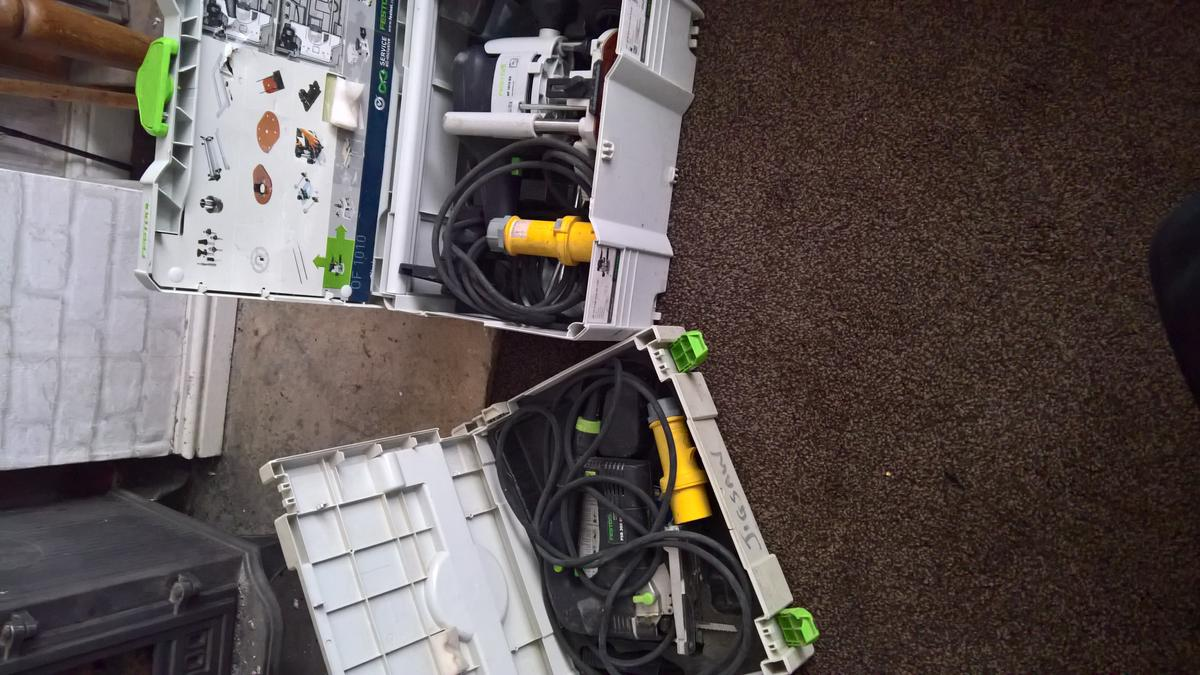 Festool Tools For Sale In Bolton For 1 000 00 For Sale Shpock